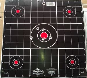 First 5 Rounds, 10 yards